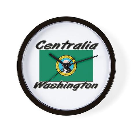 Centralia Washington Wall Clock