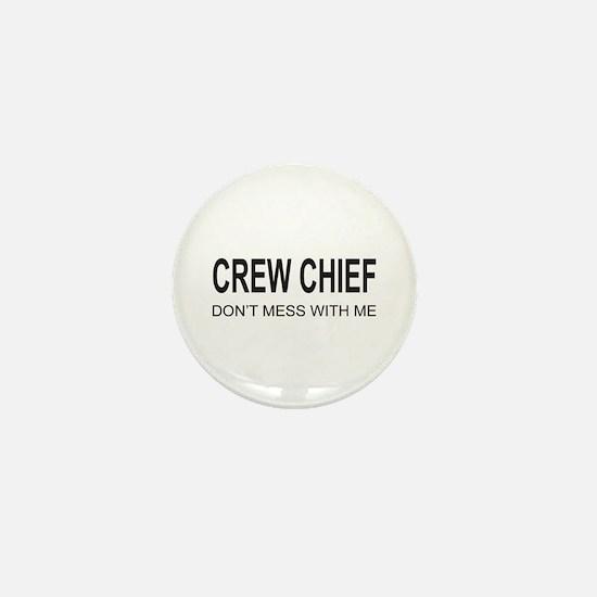 Crew Chief Mini Button
