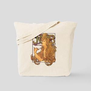 Alphonse Mucha JOB Tote Bag