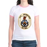USS NICHOLSON Jr. Ringer T-Shirt