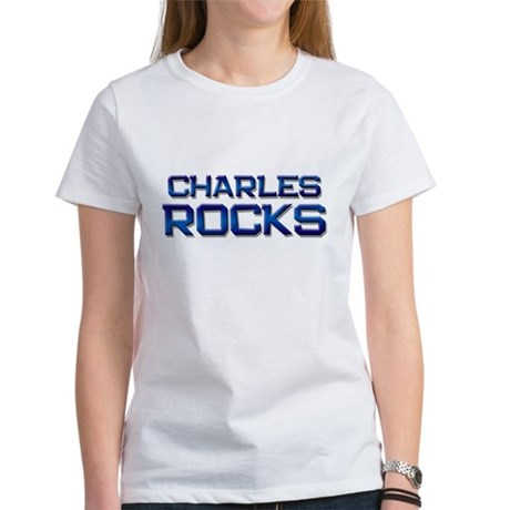 charles rocks Women's T-Shirt
