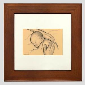 Babies Framed Tile