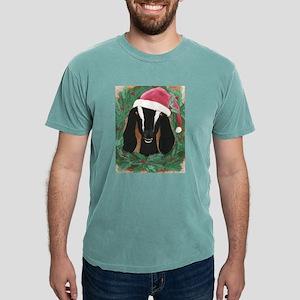 Nubian Goat Christmas Mens Comfort Colors® Shirt
