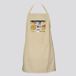 Fruit Stand by Caillebotte Apron