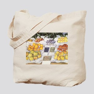 Fruit Stand by Caillebotte Tote Bag