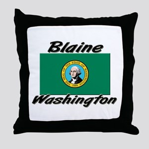 Blaine Washington Throw Pillow