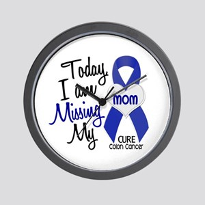 Missing My Mom 1 CC Wall Clock