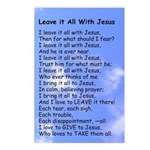 Leave it All W Jesus Postcards (Package of 8)