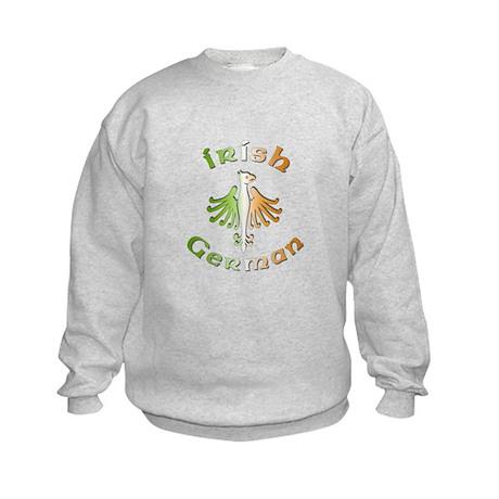 Irish German Kids Sweatshirt