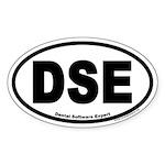 Dental Software Expert DSE Euro Oval Sticker