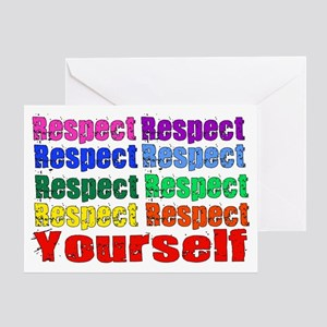 Rainbow Respect Greeting Card