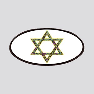 Jewel-look Star Of David Patch