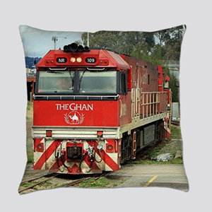 The Ghan train locomotive, Austral Everyday Pillow