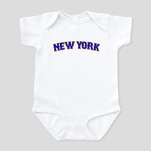 NY Baseball Infant Bodysuit