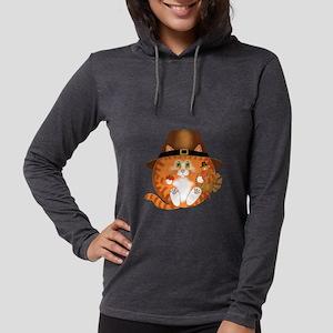Bauble Cat Thanksgiving Long Sleeve T-Shirt