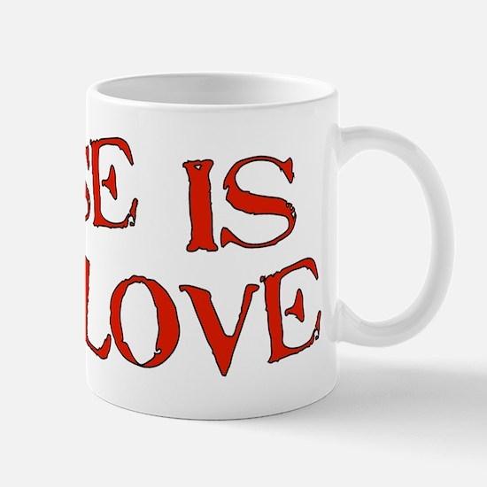 Abuse Is Not Love Mug