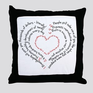 Breastfeeding: The Greatest Gift Throw Pillow