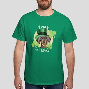 St. Patrick Dachshund Dark T-Shirt