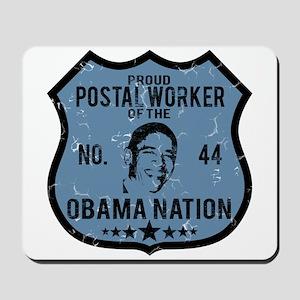 Postal Worker Obama Nation Mousepad
