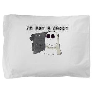 Not A Ghost But Dead Inside Cute Funny Pillow Sham