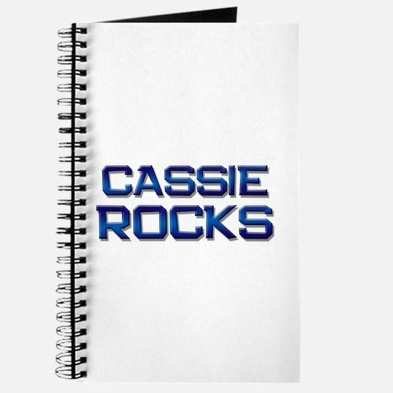 cassie rocks Journal