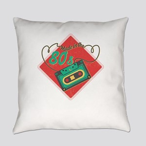 Made In The 80s Baby Retro Mixtape Everyday Pillow