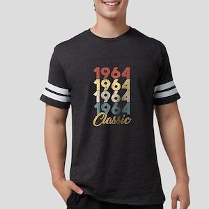 Vintage Retro Born In 1964 55th Birthday G T-Shirt