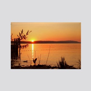 """""""Sunset Germany"""" Rectangle Magnet"""
