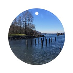 Barnet Marine Park Round Ornament