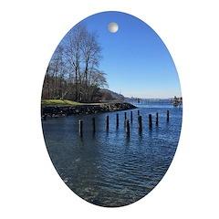 Barnet Marine Park Oval Ornament