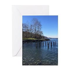 Barnet Marine Park Greeting Cards