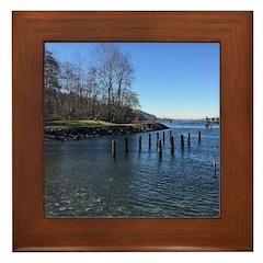 Barnet Marine Park Framed Tile
