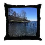 Barnet Marine Park Throw Pillow