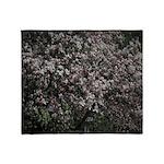 Magnolia Tree Throw Blanket