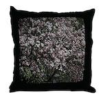 Magnolia Tree Throw Pillow