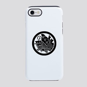 Ageha butterfly in circle iPhone 8/7 Tough Case