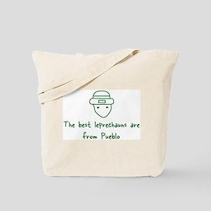Pueblo leprechauns Tote Bag
