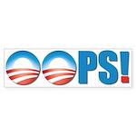 OOPS Bumper Sticker (50 pk)
