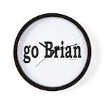 go Brian Wall Clock