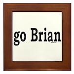 go Brian Framed Tile