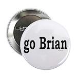 "go Brian 2.25"" Button (100 pack)"