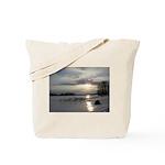 Winter Sunset 0004 Tote Bag