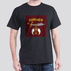 SHRINER round car magne T-Shirt