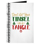 Fun Tinsel In A Tangle Christmas Journal