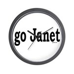 go Janet Wall Clock