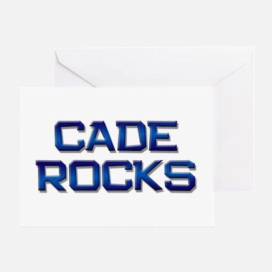 cade rocks Greeting Card