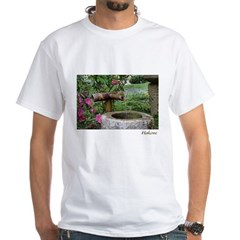 Bamboo Water Basin White T-Shirt