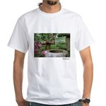 Bamboo Water Basin White T-Shirt