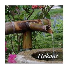 Bamboo Water Basin Tile Coaster