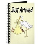 Stork and African American Baby Journal